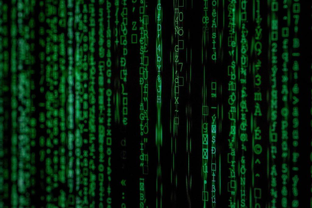 matrix like screen