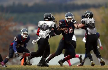 young football players Photo by Keith JJ via Pixabay