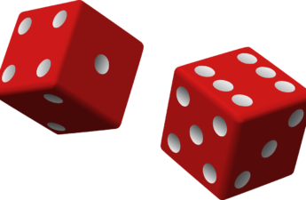 A pair of rowing dice (die)