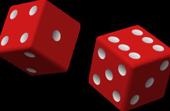 A pair of rowing dice (die)