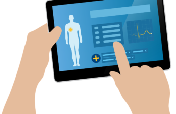 Medical records can be read on tablets